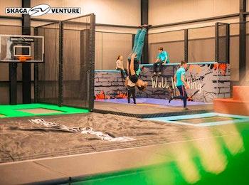 1 uur jumpen in trampolinepark bij Skaga Venture