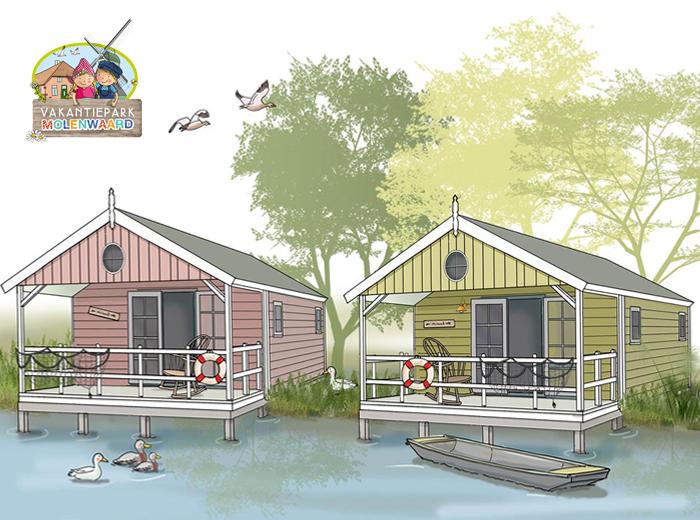 Korting 3, 5 of 7 dagen Vakantiepark Molenwaard