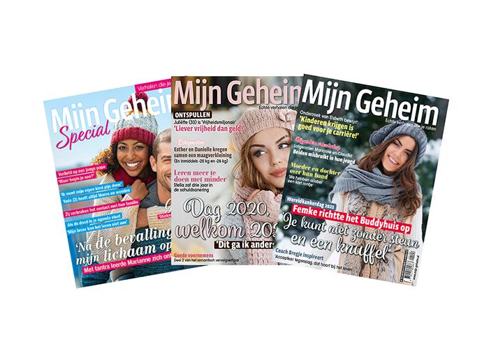 Korting Abonnement op tijdschrift Mijn Geheim plus Specials