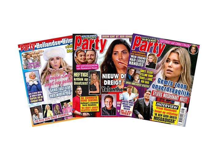 Korting Abonnement op tijdschrift Party