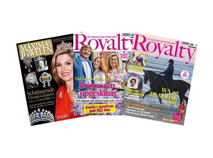 Korting Abonnement op tijdschrift Royalty plus Specials