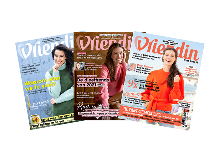 Korting Abonnement op tijdschrift Vriendin