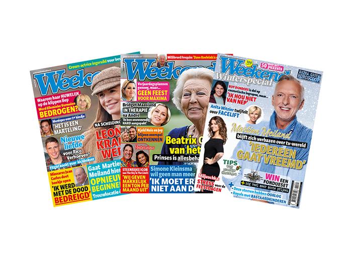 Korting Abonnement op tijdschrift Weekend