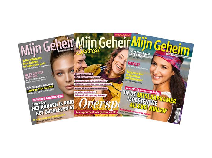 Korting Abonnement tijdschrift Mijn Geheim plus Specials