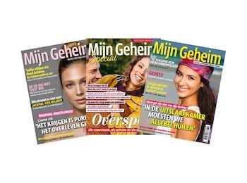 Abonnement tijdschrift Mijn Geheim + Specials