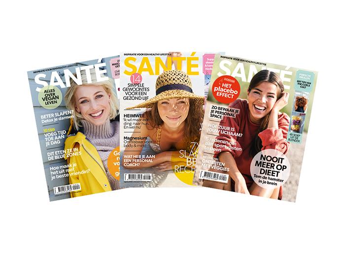 Korting Abonnement op tijdschrift Santé