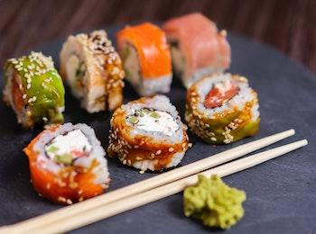 Afhalen: Sushi box van Mr Xi