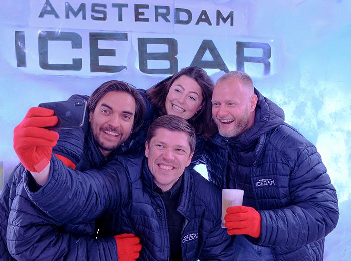 Korting Geniet van heerlijke drankjes in de Amsterdam Icebar!