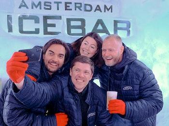 Geniet van heerlijke drankjes in de Amsterdam Icebar!