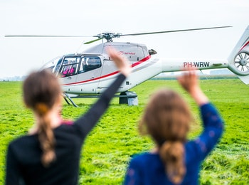 Beleef een unieke ervaring tijdens een helikoptervlucht!