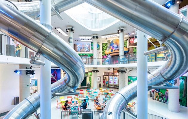 Comics Station Antwerp; indoor pretpark met stripfiguren!
