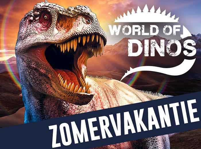 Entreeticket World of Dinos in Den Haag of Den Bosch Utrecht