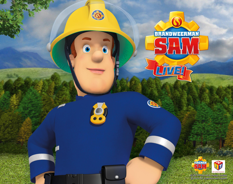 Een vlammende voorstelling van Brandweerman Sam Live...