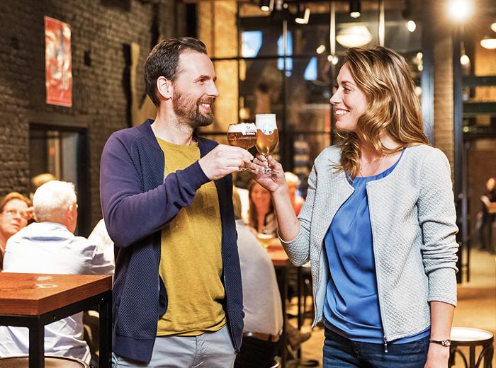 Korting Stadsbrouwerij de Koninck in Antwerpen, tour incl. 2 biertjes!