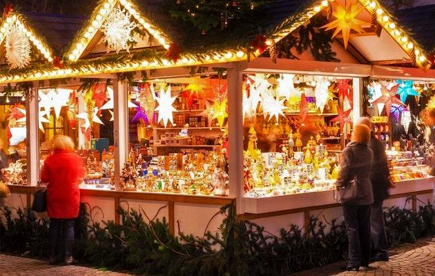 Busreis naar de kerstmarkten in Düsseldorf, Kleve, Munster of Aachen