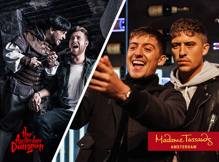 Korting Combiticket Madame Tussauds plus The Amsterdam Dungeon