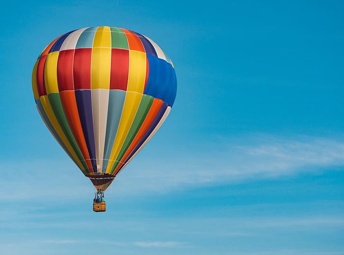 Korting Deluxe ballonvaart van 1 tot 1,5 uur incl. champagne