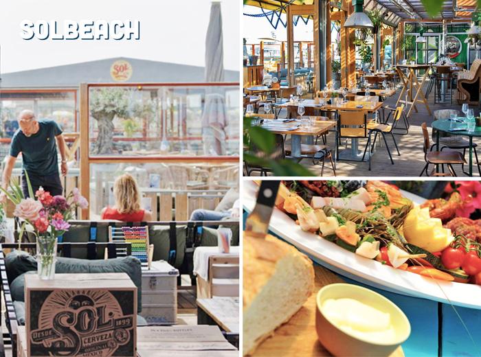 Dineren met een hoofdgerecht naar keuze bij Solbeach Scheveningen
