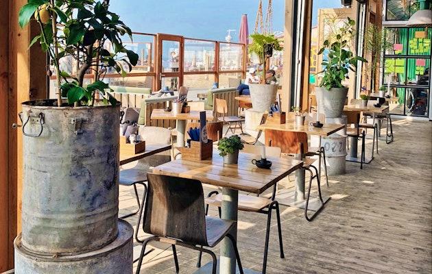 Bereid je eigen maaltijd op de BBQ aan tafel bij Solbeach Scheveningen