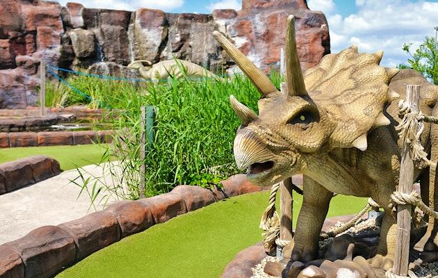Ga op avontuur als ranger in het Dino Experience Park!