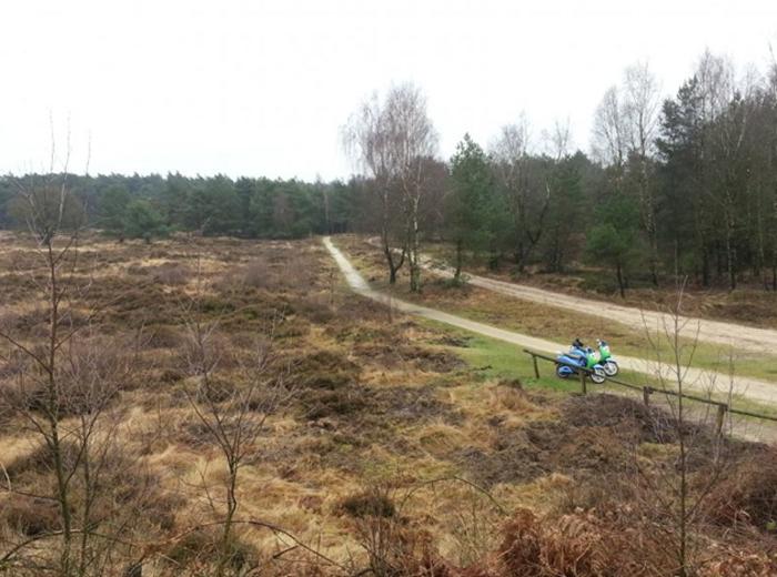 Korting 4 uur durende E Chopper tocht door Drenthe