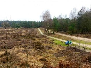 4 uur durende E-Chopper tocht door Drenthe