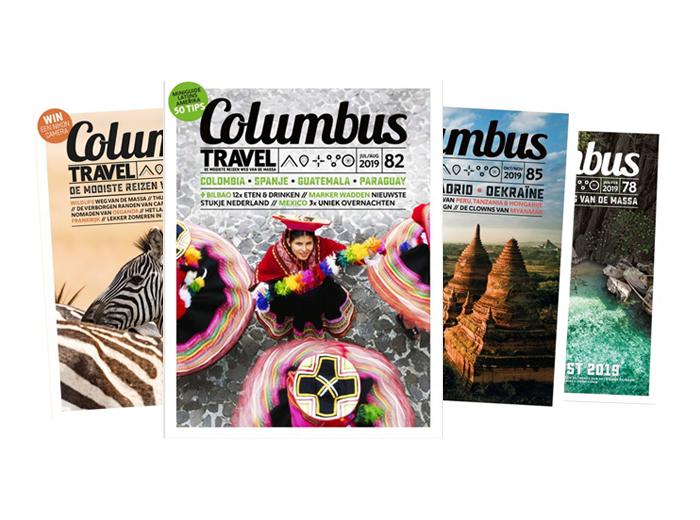 Een halfjaarabonnement op Columbus Travel Magazine