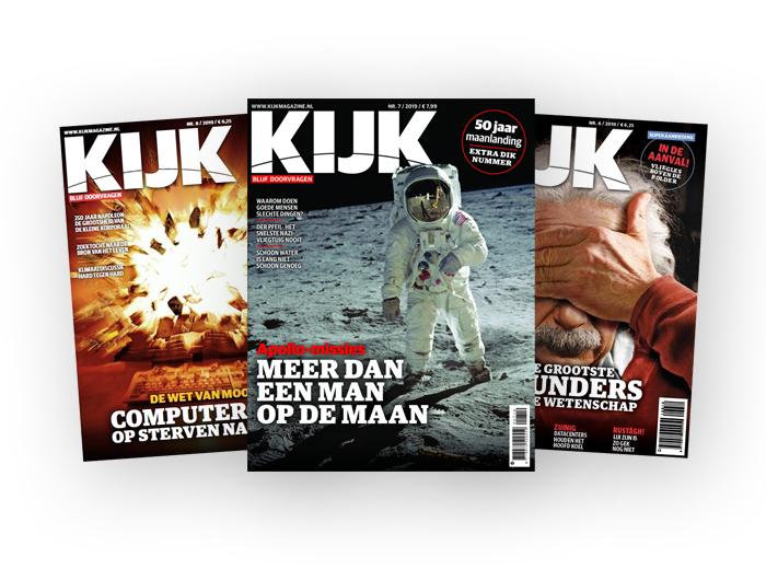 Halfjaarabonnement op KIJK magazine!