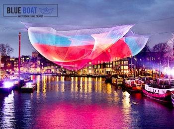 Entreeticket Amsterdam Light Festival via Blue Boat