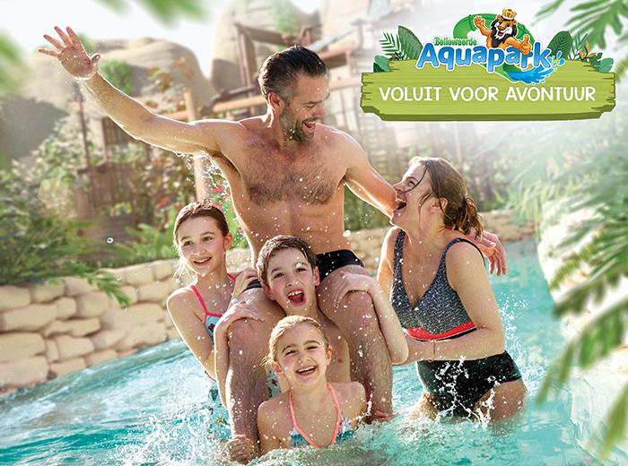 Beleef een spetterend avontuur bij Bellewaerde Aquapark!
