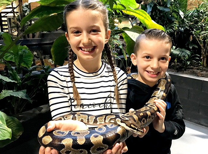 Korting Entreeticket Reptielenhuis de Aarde in Breda