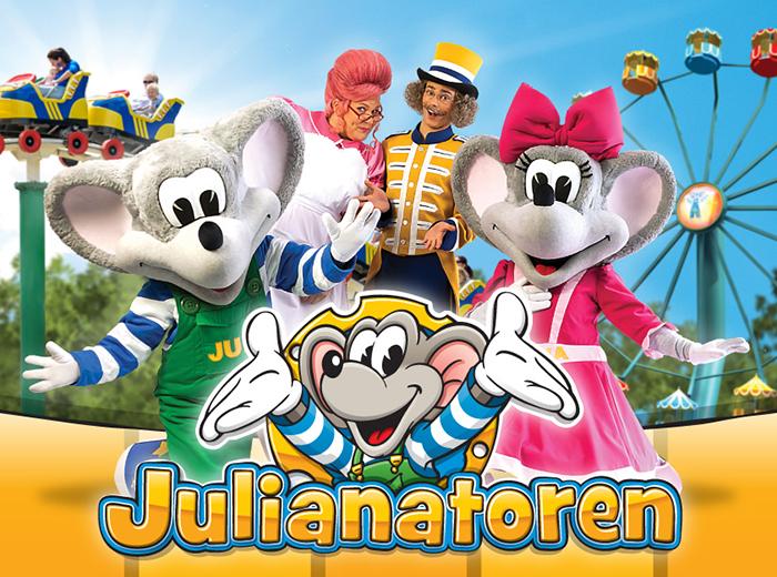 Presale 2020: entreeticket voor Kinderpretpark Julianatoren!