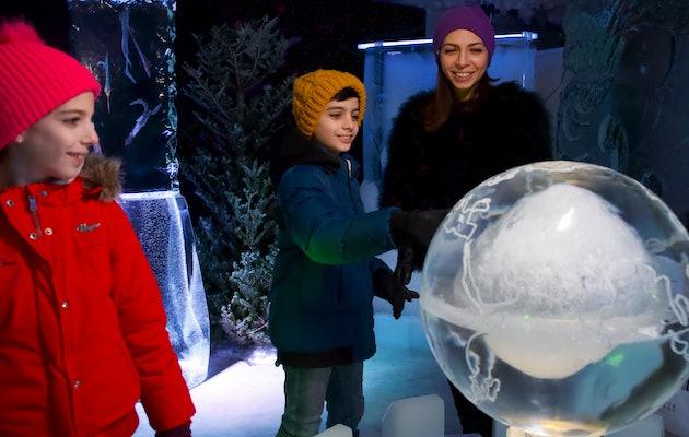 Entreeticket voor IJsmuseum Icecarving