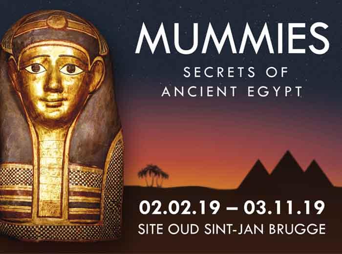 Korting Ontdek het oude Egypte in Xpo Center Bruges! Leiden
