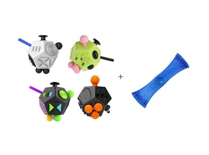 Korting Fidget Mesh en Marble plus Fidget Cube Special edition