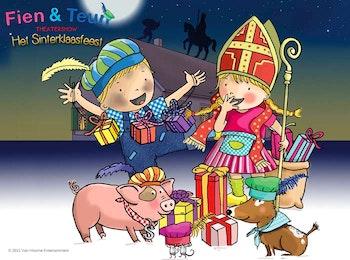Fien & Teun Sinterklaasfeest op 4 december 2021