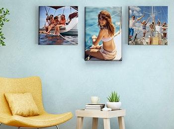 Maak jouw interieur compleet met een foto op canvas!