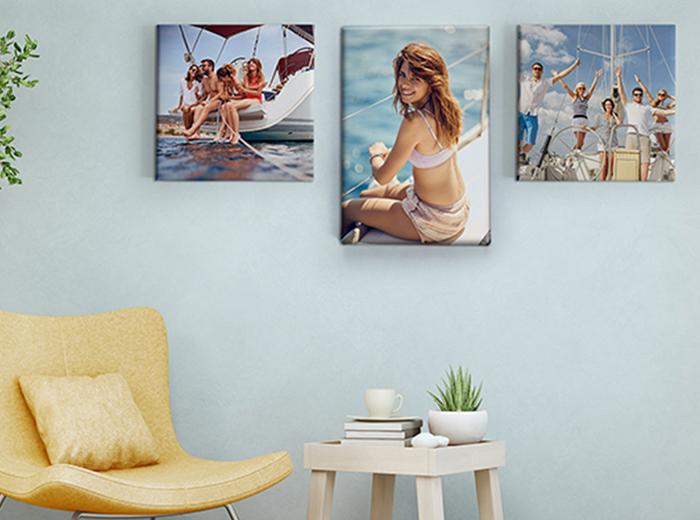 Korting Maak jouw interieur compleet met een foto op canvas!