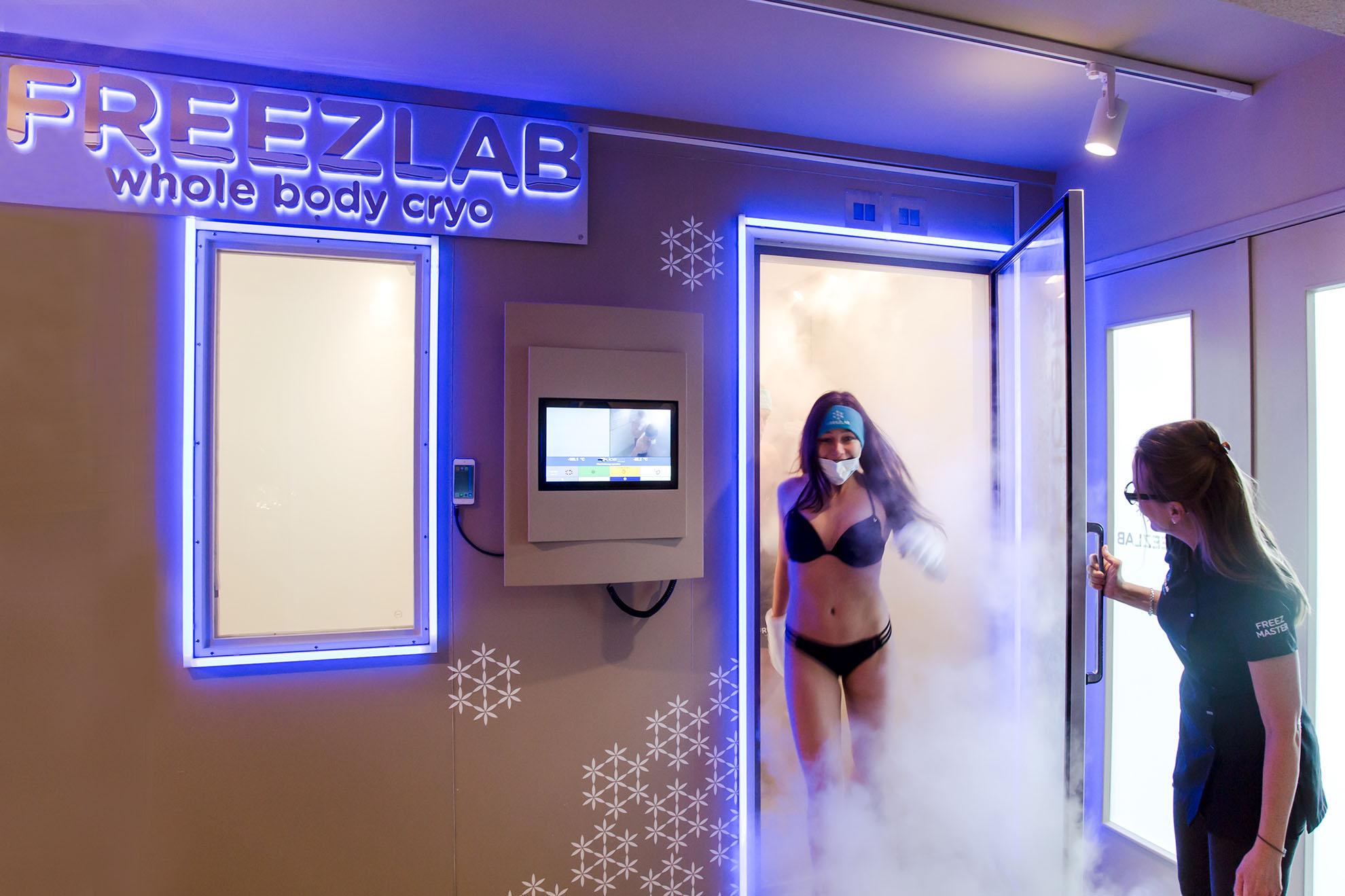 Korting Ervaar de helende kracht van kou bij Freezlab in Amsterdam Gent