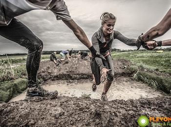 Ga de uitdaging aan tijdens een Obstacle Run bij Flevonice!