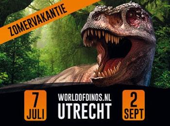 Ga naar de grootste Dino Expo van Europa; World of Dinos!