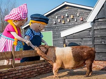 Ga op stap met het hele gezin naar Avonturenboerderij Molenwaard!