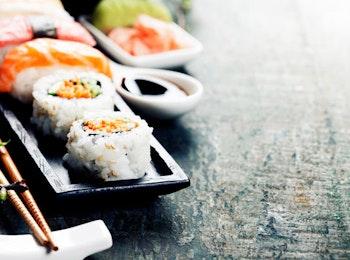 Geniet van een Sushi Sensation menu van Sushipoint