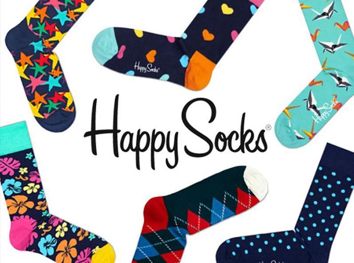 Happy Socks verrassingspakket met 6 verschillende designs!