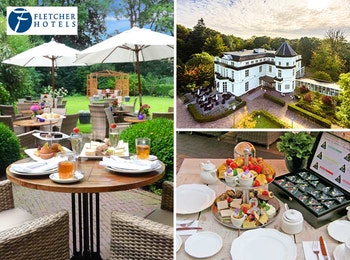 Heerlijke high tea bij één van de ruim 100 Fletcher Hotels