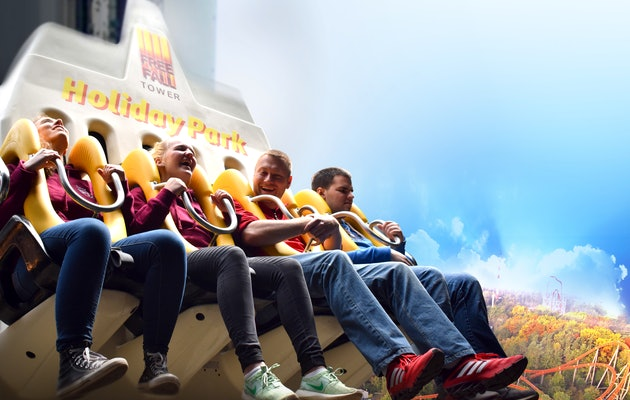 Kriebels en thrills voor jong en oud in Holiday Park!