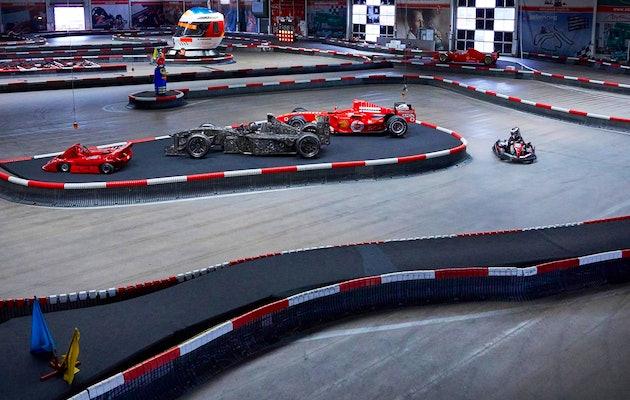 3x 10 minuten karten bij Michael Schumacher Kart & Eventcenter