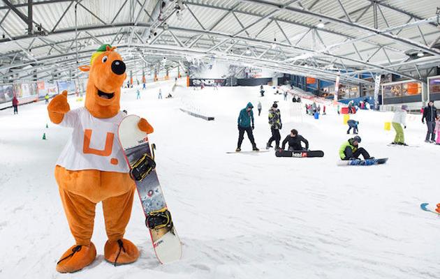 Korting Kom 2 uur skiën of snowboarden bij de Uithof! Den haag