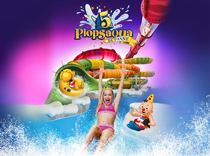 Plopsaqua De Panne, het coolste waterpretpark van Belgi�!