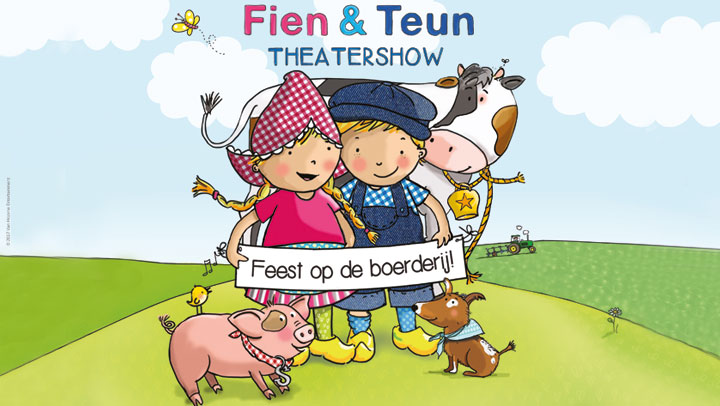 Theatervoorstelling Fien en Teun Feest op de boerderij!...